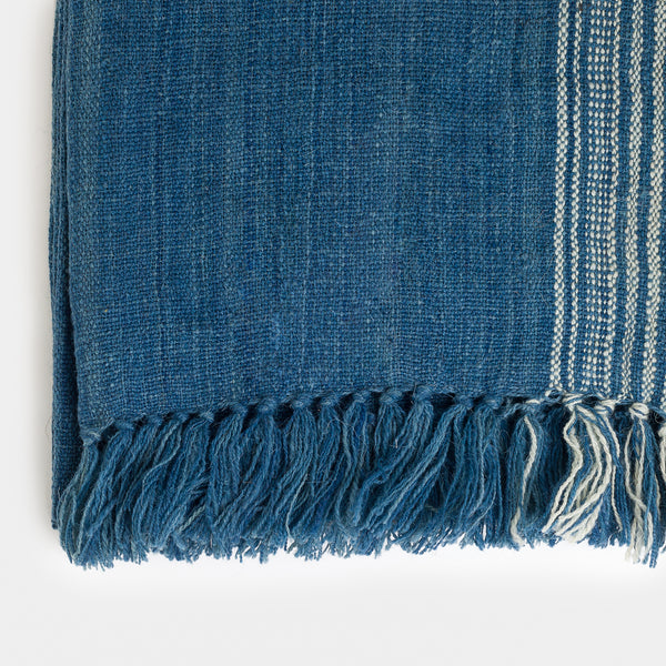 Pantkaar Throw in Blue - Throws – Shoppe Amber Interiors