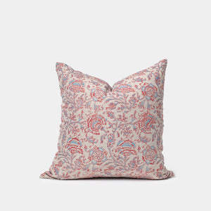 Shenaz Vintage Red and Blue Pillow