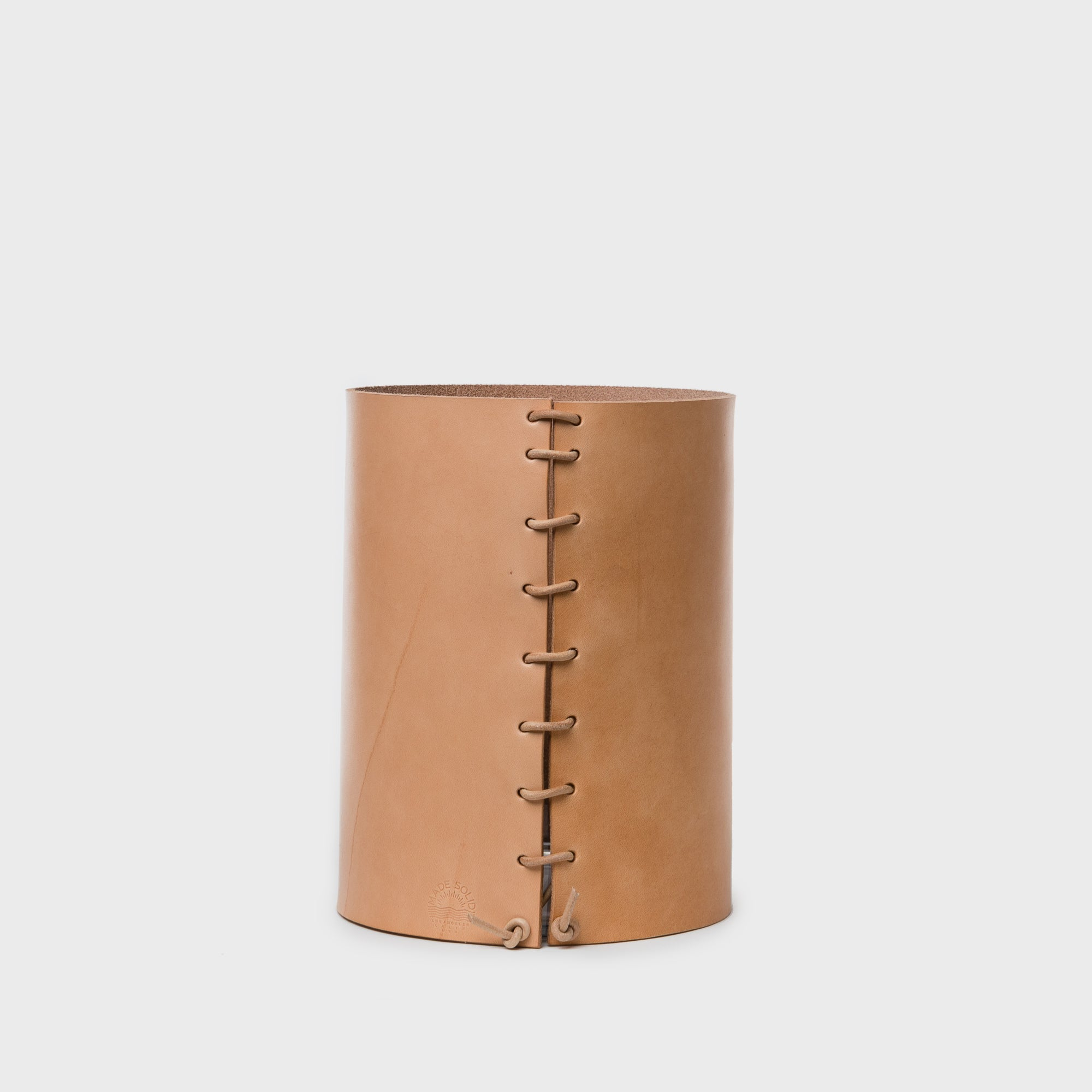 Leather Wrapped Vase - Home Accessories - Bowls & Vases - New – Shoppe Amber Interiors