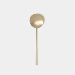 Brass Serving Spoon - Kitchen & Dining - Serveware – Shoppe Amber Interiors