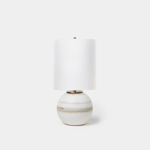 Birch Bronze Orb Lamp - Lighting - Designer - Lamps – Shoppe Amber Interiors
