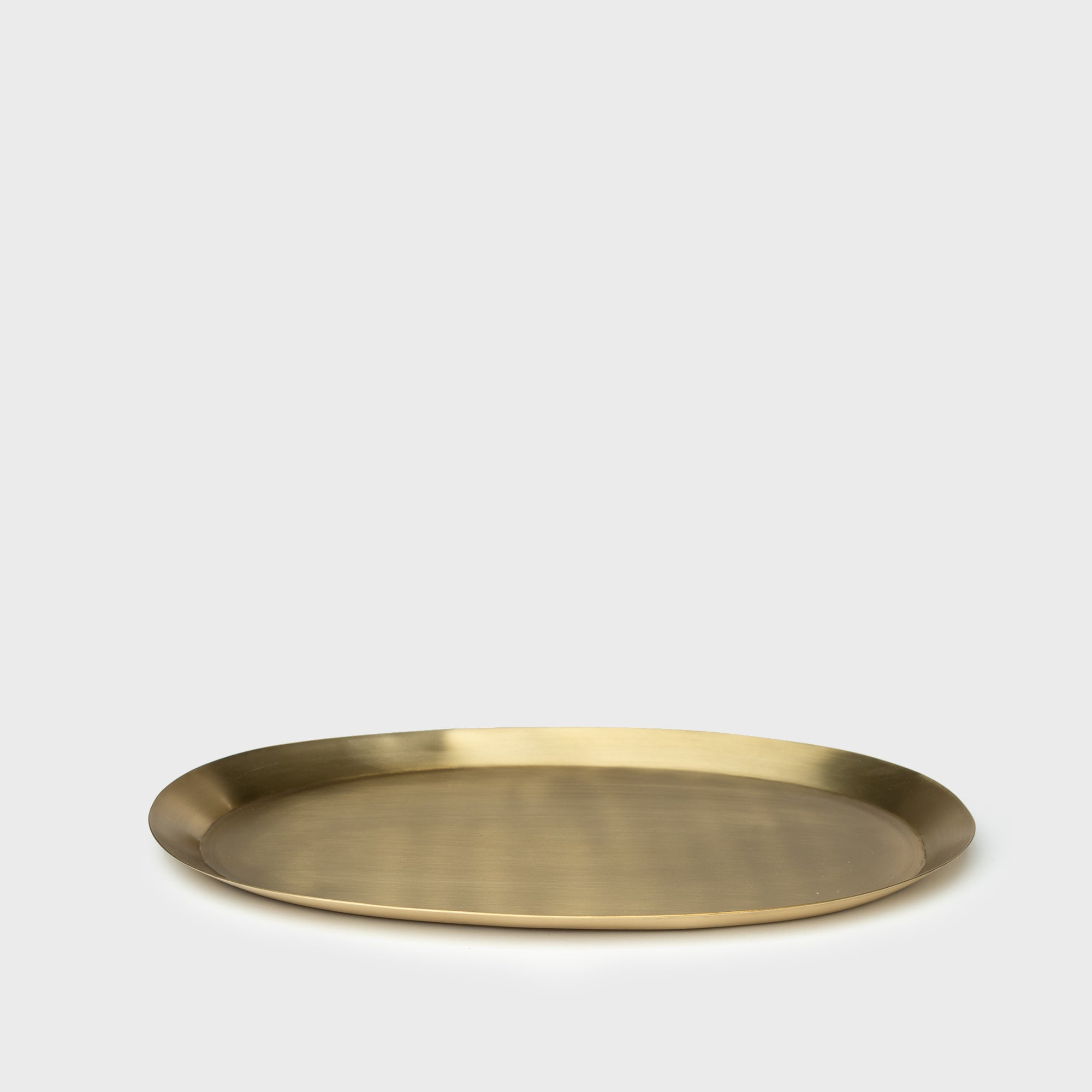 Brass Oval Tray - Home Accessories - Trays & Boards – Shoppe Amber Interiors