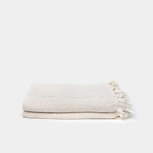 Domi Cotton Throw with Grey