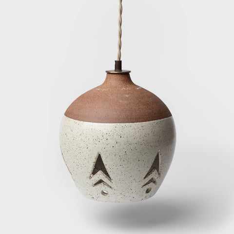 Small Arrow Ceramic Pendant by Heather Levine
