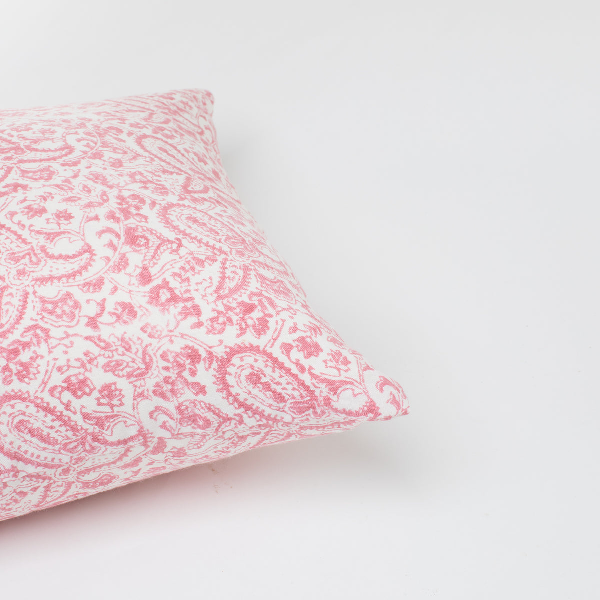 Load image into Gallery viewer, Meenakshi Rose and Taupe Pillow
