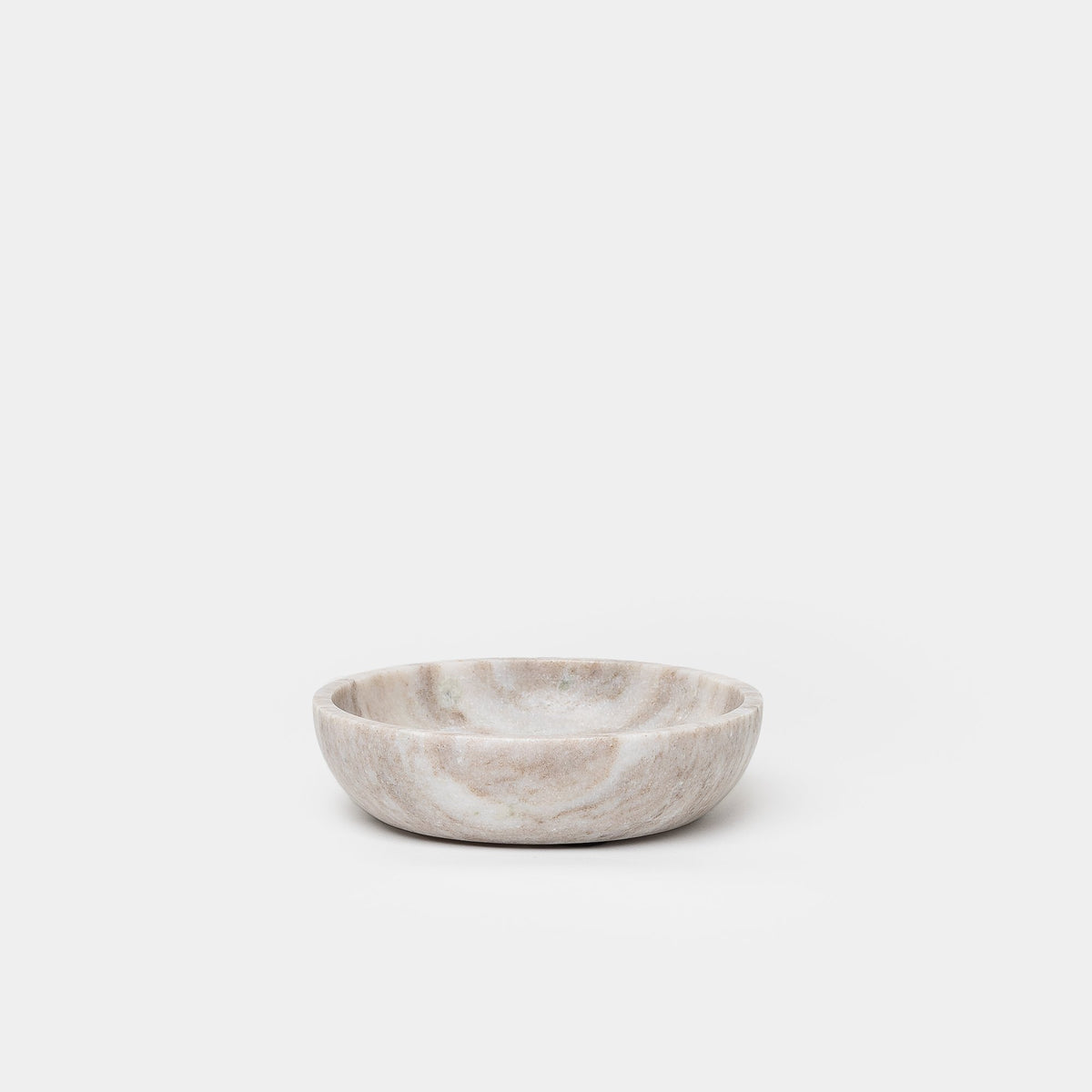 Load image into Gallery viewer, Brown Marble Bowl