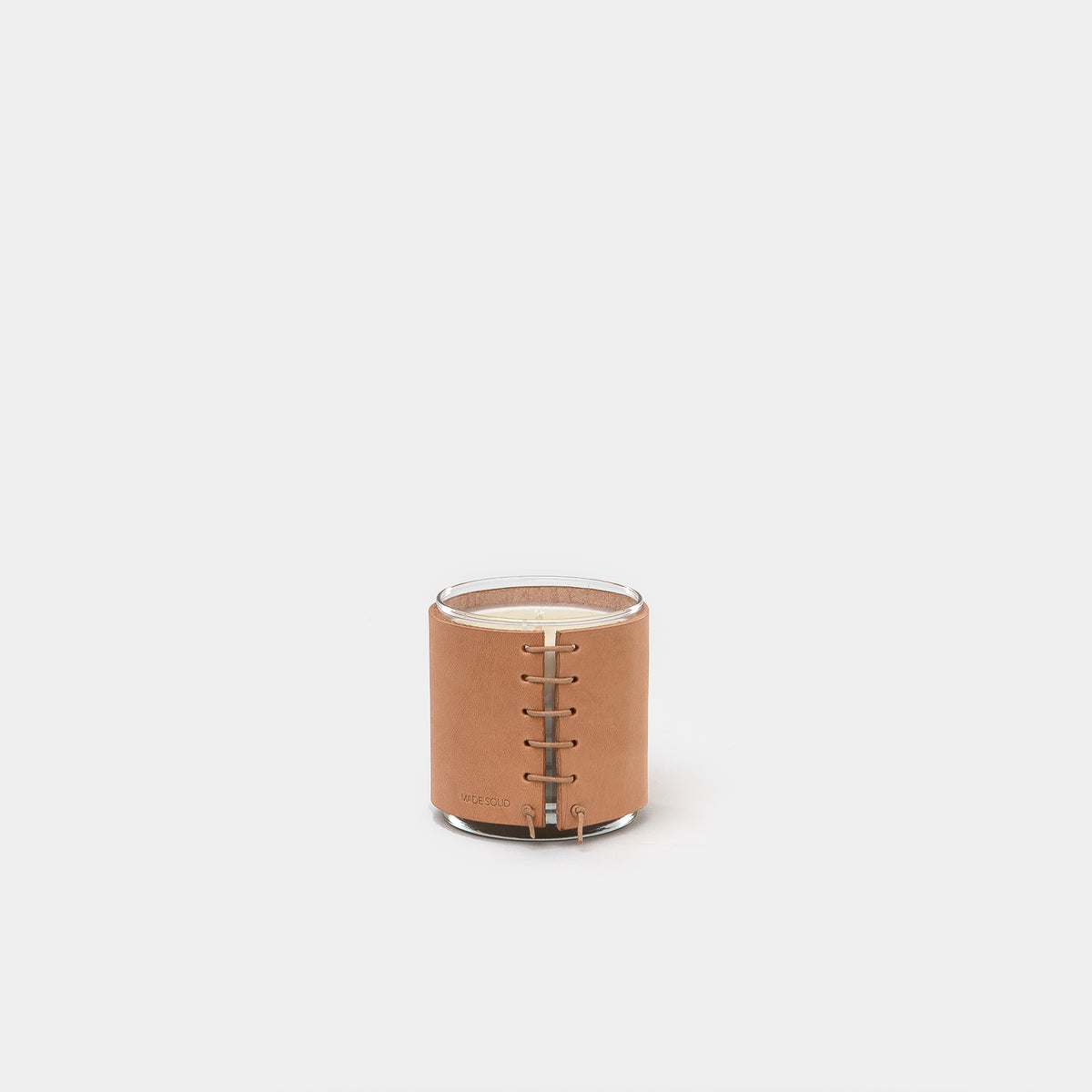 Load image into Gallery viewer, Leather Wrapped Candle - Leather - Apothecary - Candles – Shoppe Amber Interiors