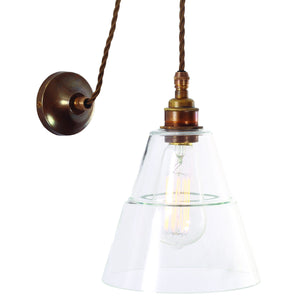 Rigale Coolie Pulley Wall Light - Lighting - Designer - Sconces – Shoppe Amber Interiors