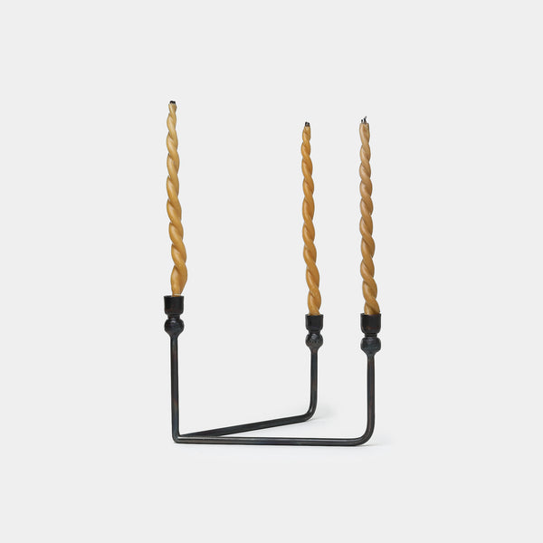 Urbino Candelabra in Iron - Home Accessories – Shoppe Amber Interiors