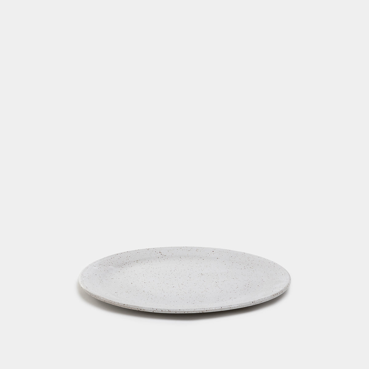 Load image into Gallery viewer, Dinner Plate in Speckled Stone by Meghan Flynn