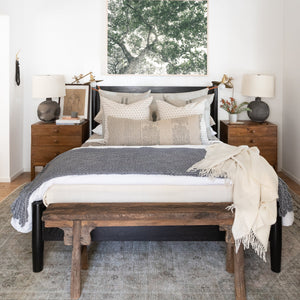 Penny Bed - Furniture - Line - Bed - Penny – Shoppe Amber Interiors