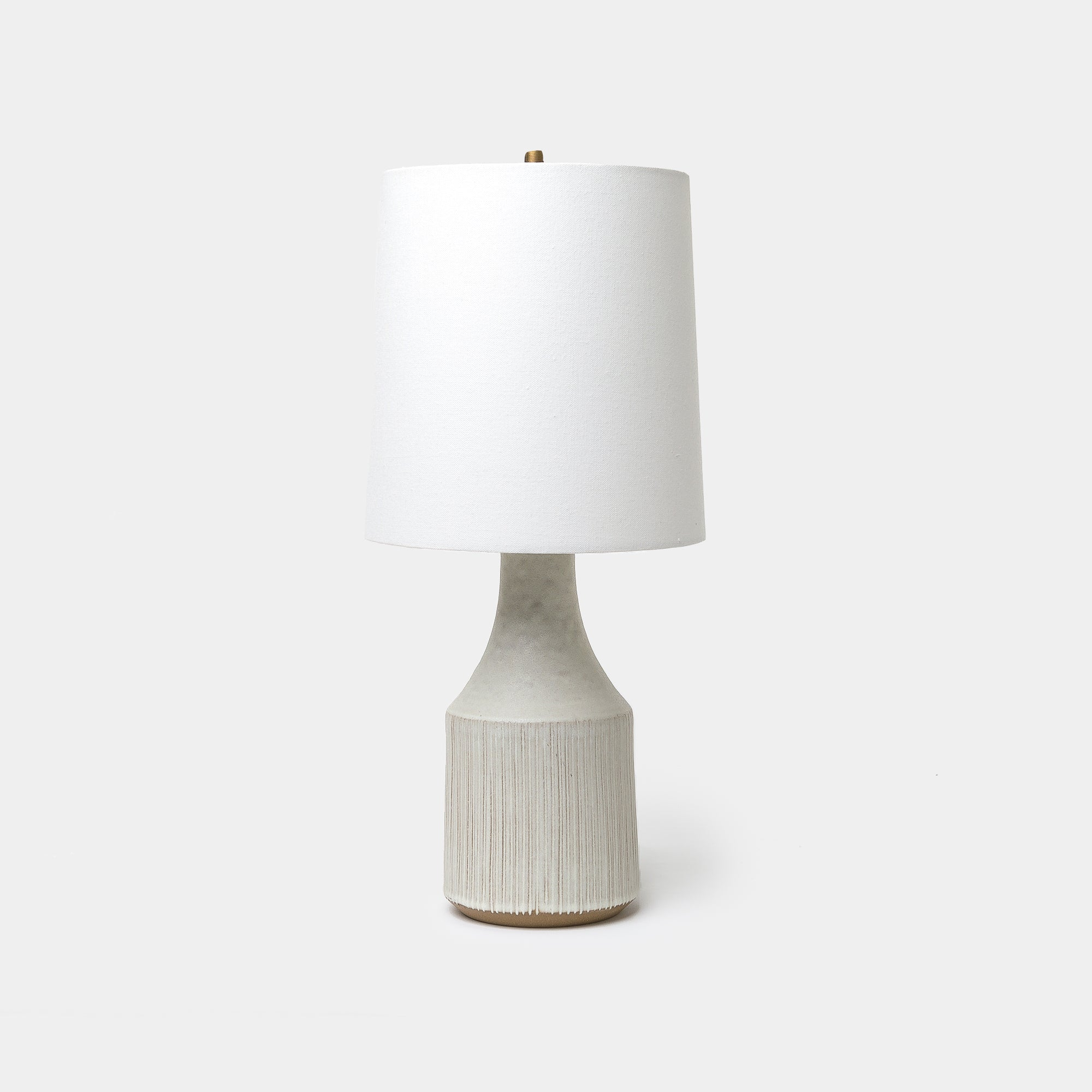 Small White Classic Lamp