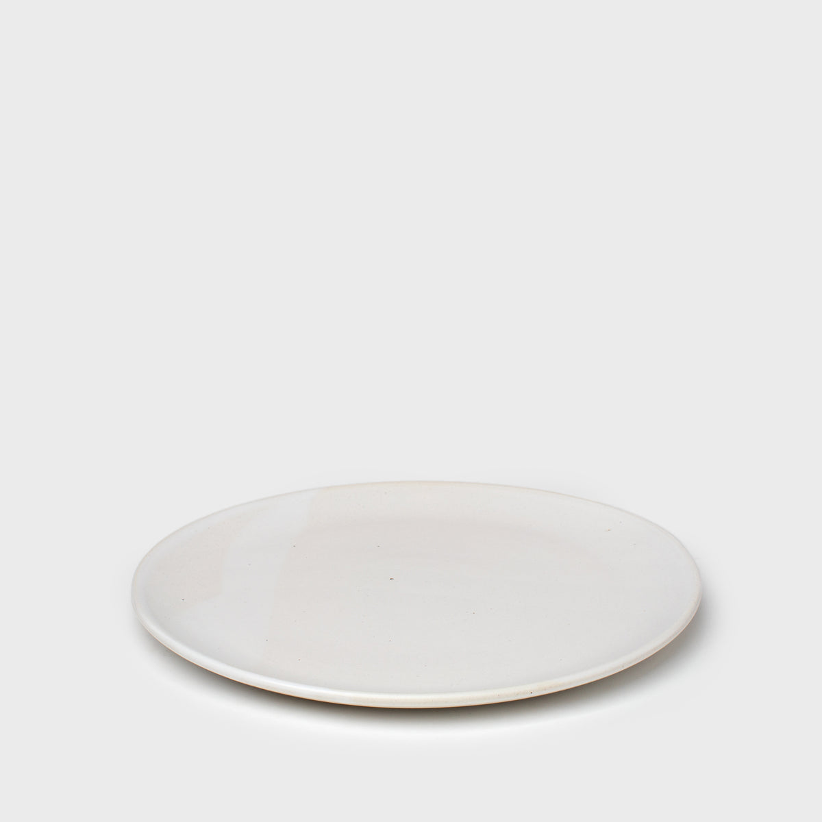 Load image into Gallery viewer, Dinner Plate in White by Meghan Flynn - Kitchen & Dining – Shoppe Amber Interiors