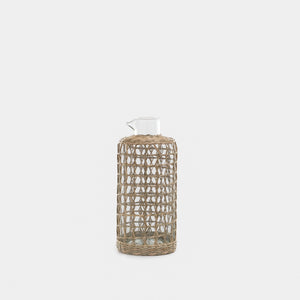 Seagrass Cage Carafe - Unclassified – Shoppe Amber Interiors