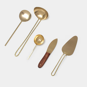 Brass Serving Spoon
