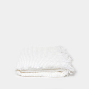 Caria Bath Towel in Off White - Bath - Bath Towels – Shoppe Amber Interiors