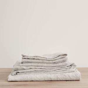 Cultiver Sheet Set Pinstripe - Bedding – Shoppe Amber Interiors