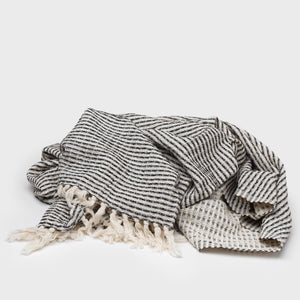Black Waffler Blanket