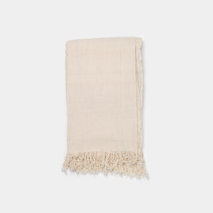 Natural Fringe Towel
