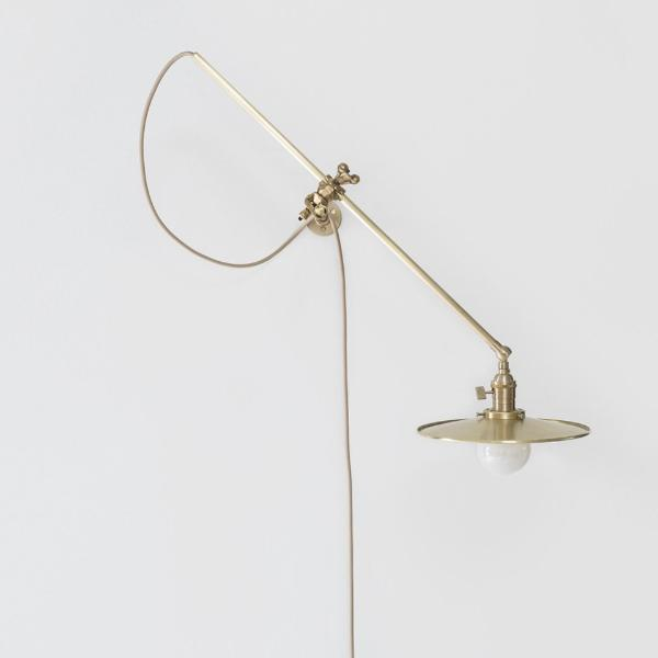 Brass wall lamp by workstead shoppe amber interiors brass wall lamp by workstead brass wall lamp by workstead aloadofball Choice Image