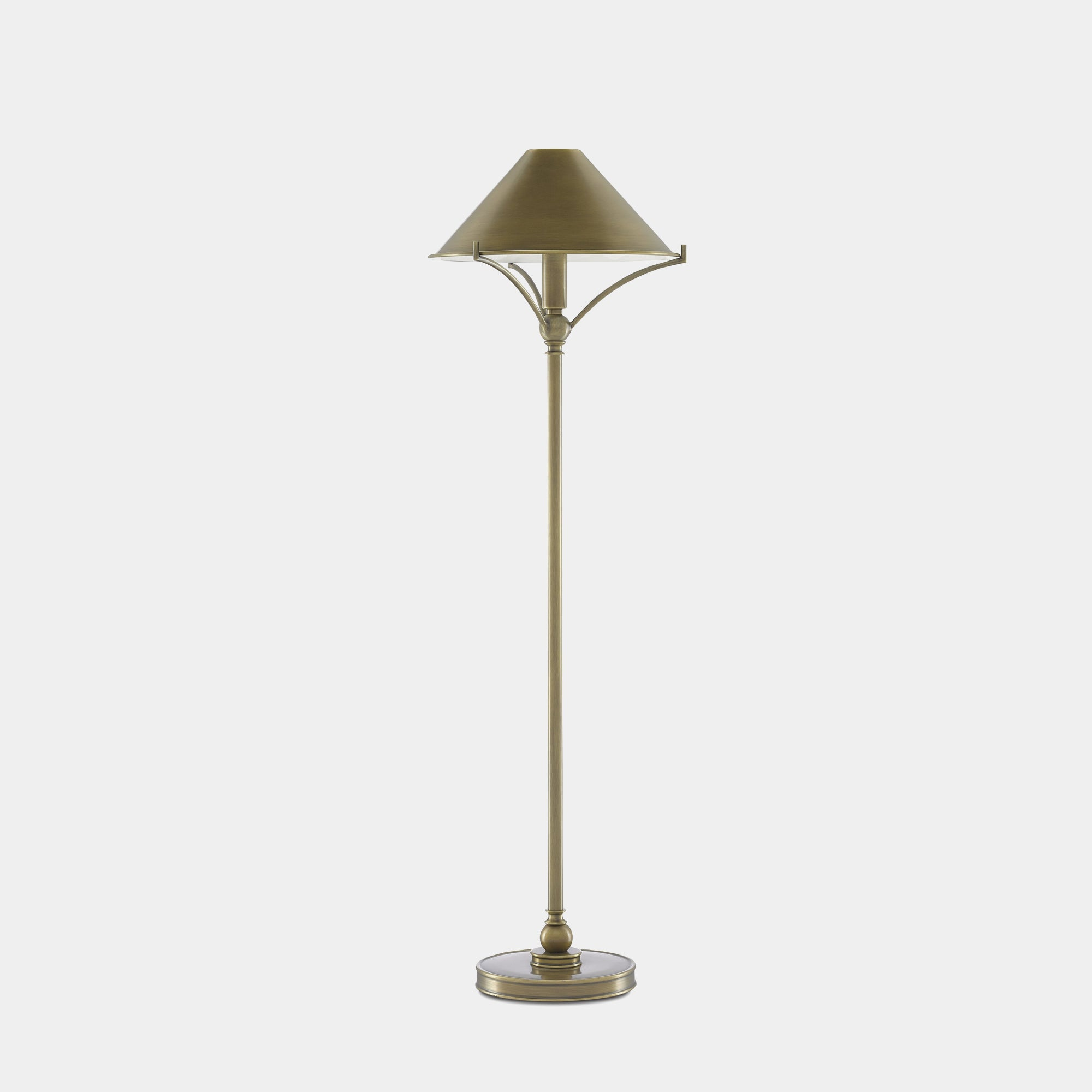 Sutton Antique Brass Table Lamp -  – Shoppe Amber Interiors