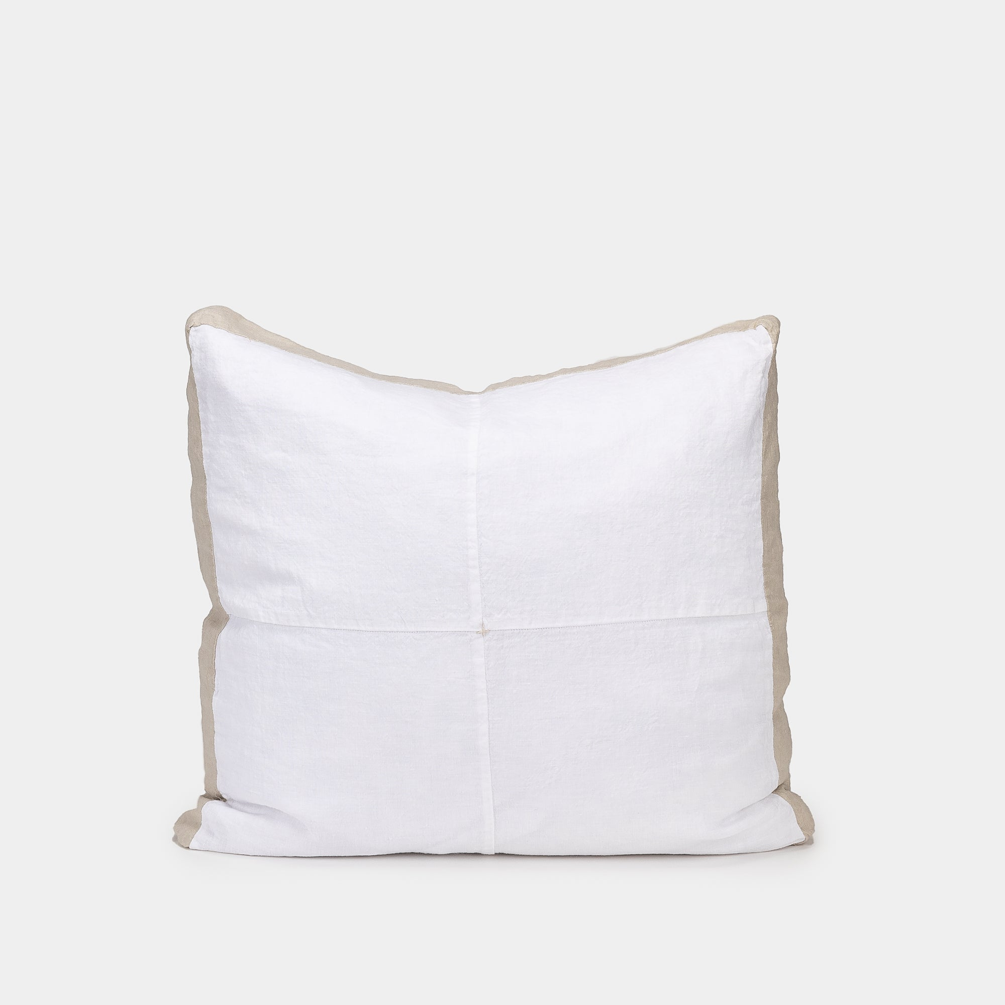 Basix Linen Panel Pillow Ayrton/Sable 20x20