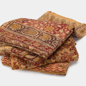 Natural Dye Kalamkari Throw