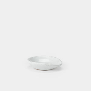 White Speckled Spoon Rest