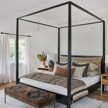 Load image into Gallery viewer, Penny Canopy Bed - Furniture - Line - Bed - Penny Canopy – Shoppe Amber Interiors