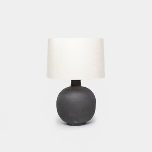 Charcoal Ceramic Jug Table Lamp - Lighting – Shoppe Amber Interiors