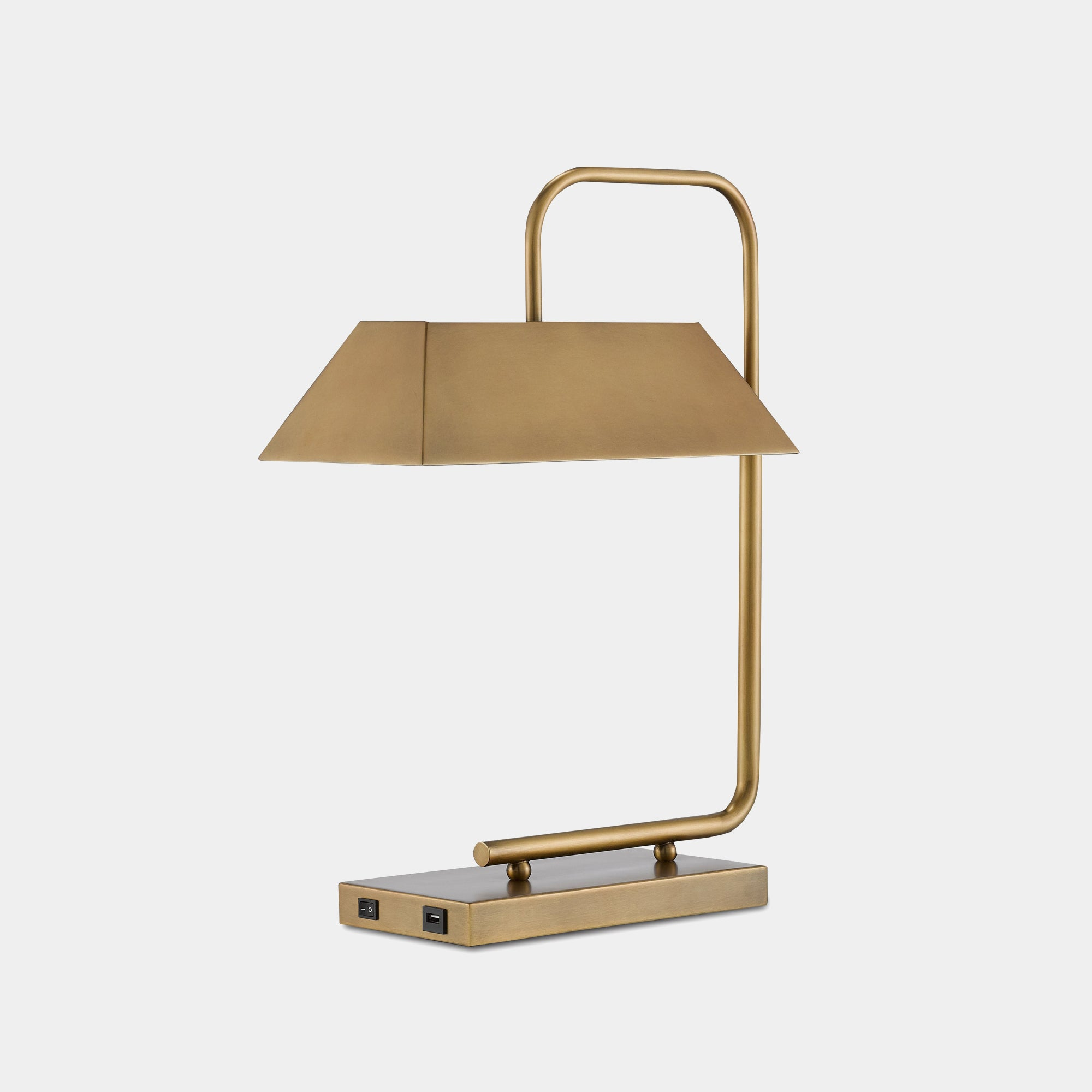 Emeris Brass Table Lamp