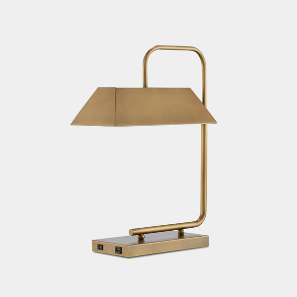 Emeris Brass Table Lamp -  – Shoppe Amber Interiors