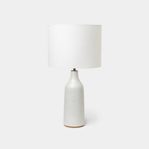 Speckled Ivory Bottle Lamp - Lighting - Designer - Lamps – Shoppe Amber Interiors