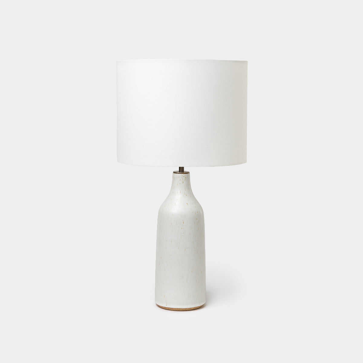 Load image into Gallery viewer, Speckled Ivory Bottle Lamp - Lighting - Designer - Lamps – Shoppe Amber Interiors