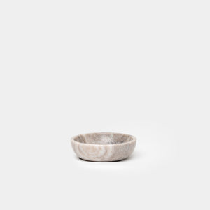 Brown Marble Bowl Small - Home Accessories - Bowls & Vases - New – Shoppe Amber Interiors