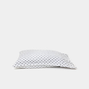 Dot Charcoal & Natural Pillowcase Set of 2 - Bedding - Pillow Cases – Shoppe Amber Interiors