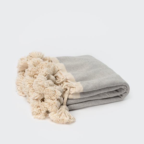 Moroccan Bendaoud Throw - Blankets – Shoppe Amber Interiors
