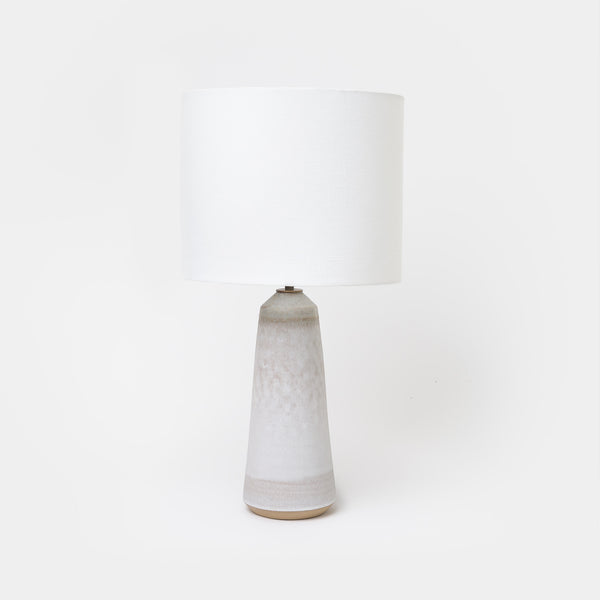 Grey Birch/Bronze Thimble Lamp - Lighting - Designer - Lamps – Shoppe Amber Interiors