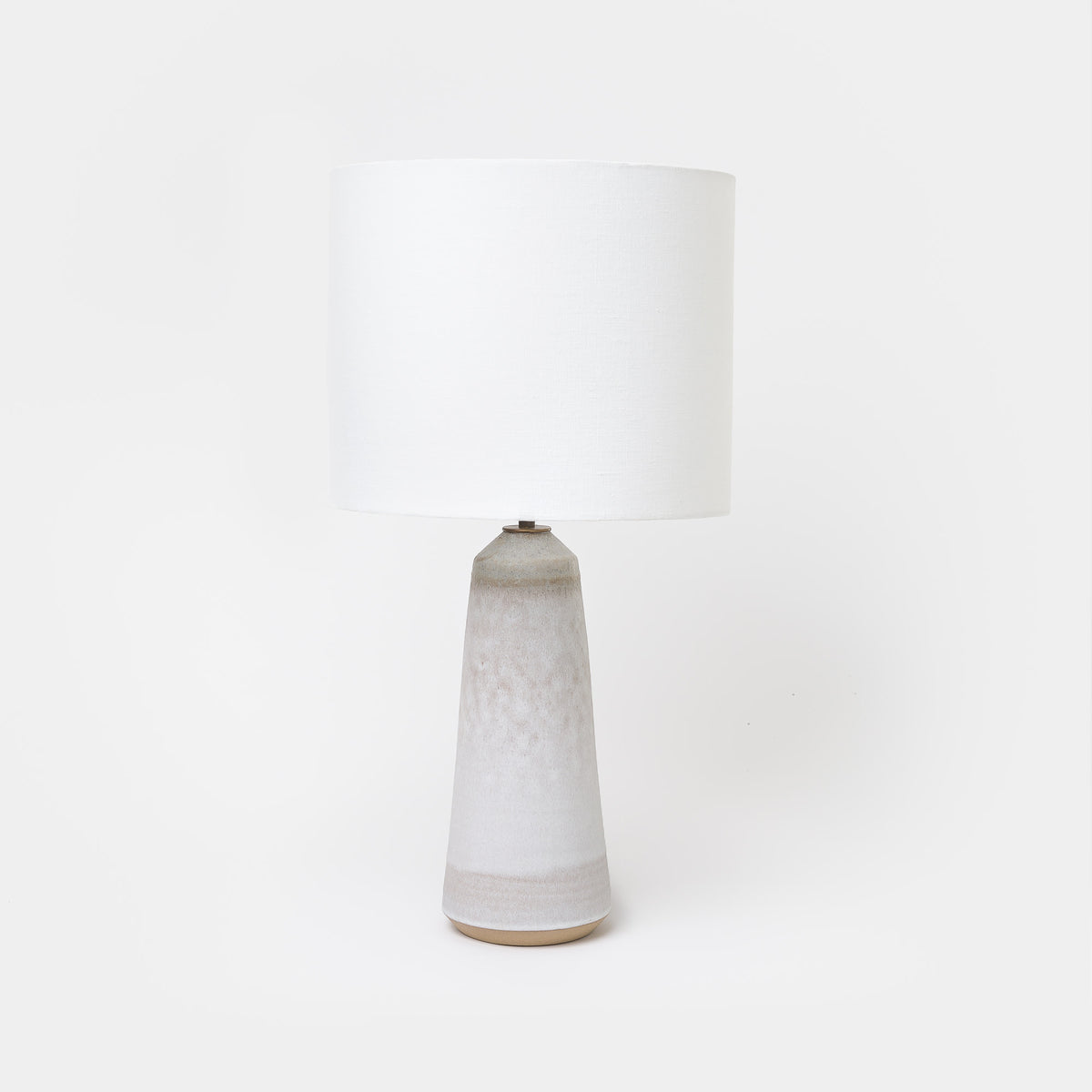 Load image into Gallery viewer, Grey Birch/Bronze Thimble Lamp - Lighting - Designer - Lamps – Shoppe Amber Interiors