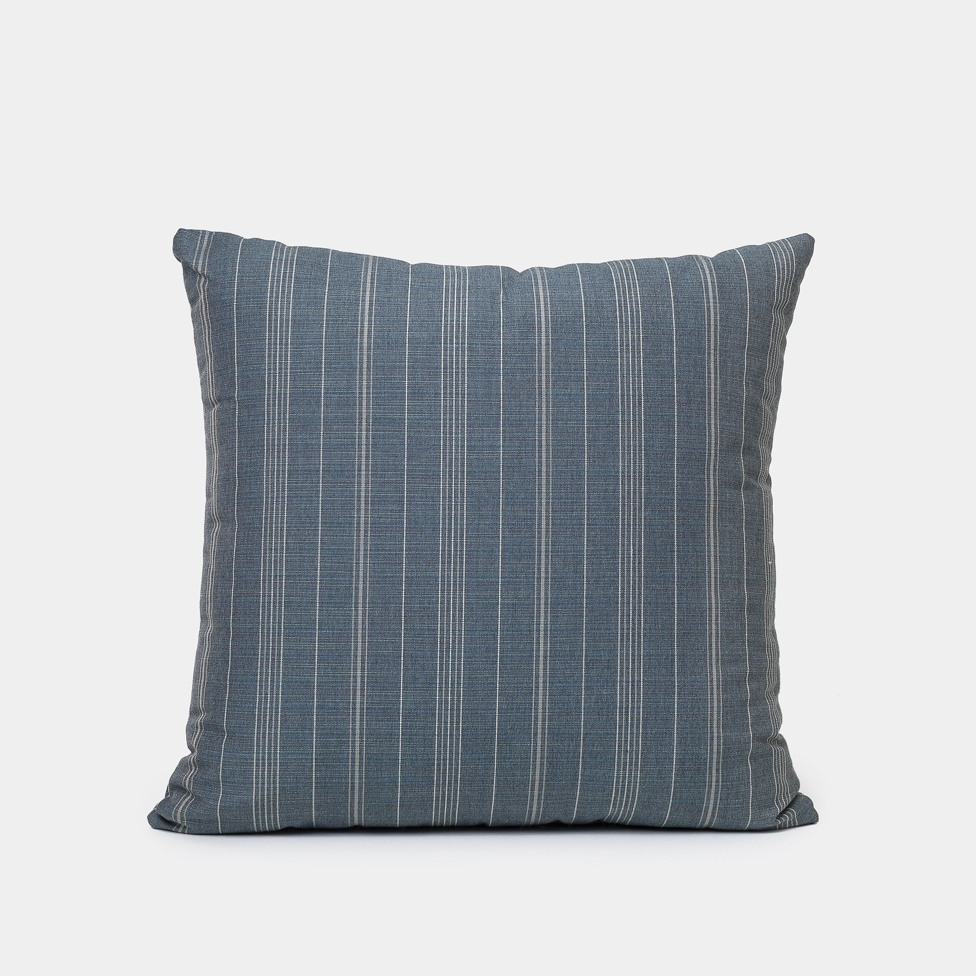 Sutton Stripe Pillow in Gunmetal - Pillows - Designer – Shoppe Amber Interiors