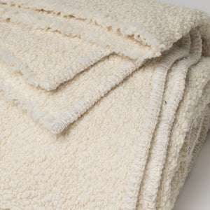 Kurlisuri Cream Throw