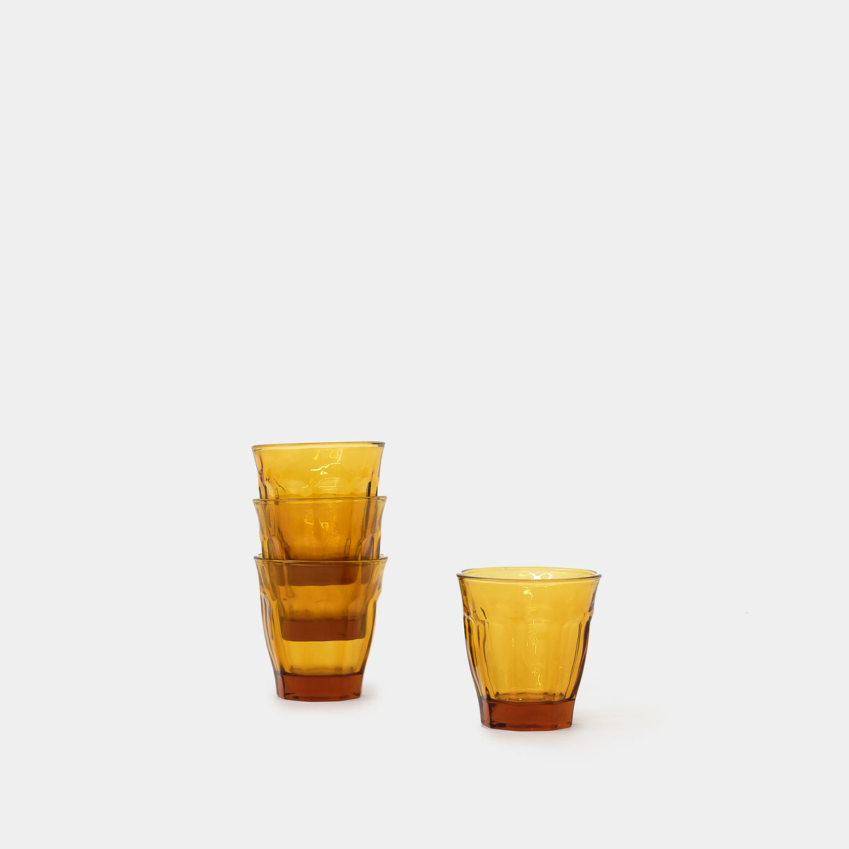 Load image into Gallery viewer, Cafe Glass in Amber - Kitchen & Dining - Glassware – Shoppe Amber Interiors