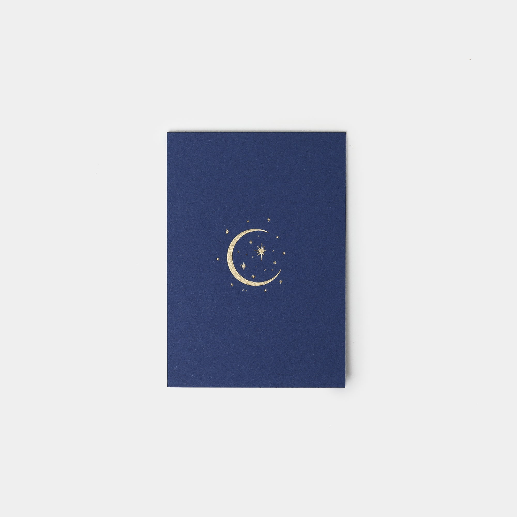 Gold Foil Moon and Stars Card - Greetings Cards – Shoppe Amber Interiors