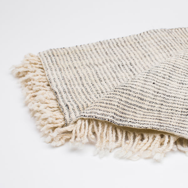 Vankar Striped Woven Throw - Blankets – Shoppe Amber Interiors