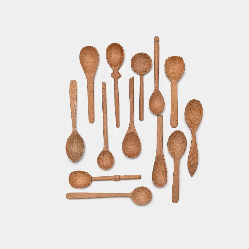 Bakers Dozen Wooden Spoon Set Small - Kitchen & Dining - Kitchenware – Shoppe Amber Interiors