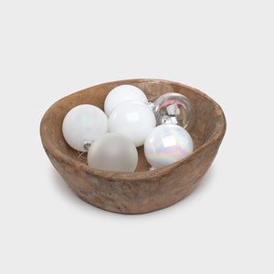 Hue Ornament Large White - Home Accessories – Shoppe Amber Interiors