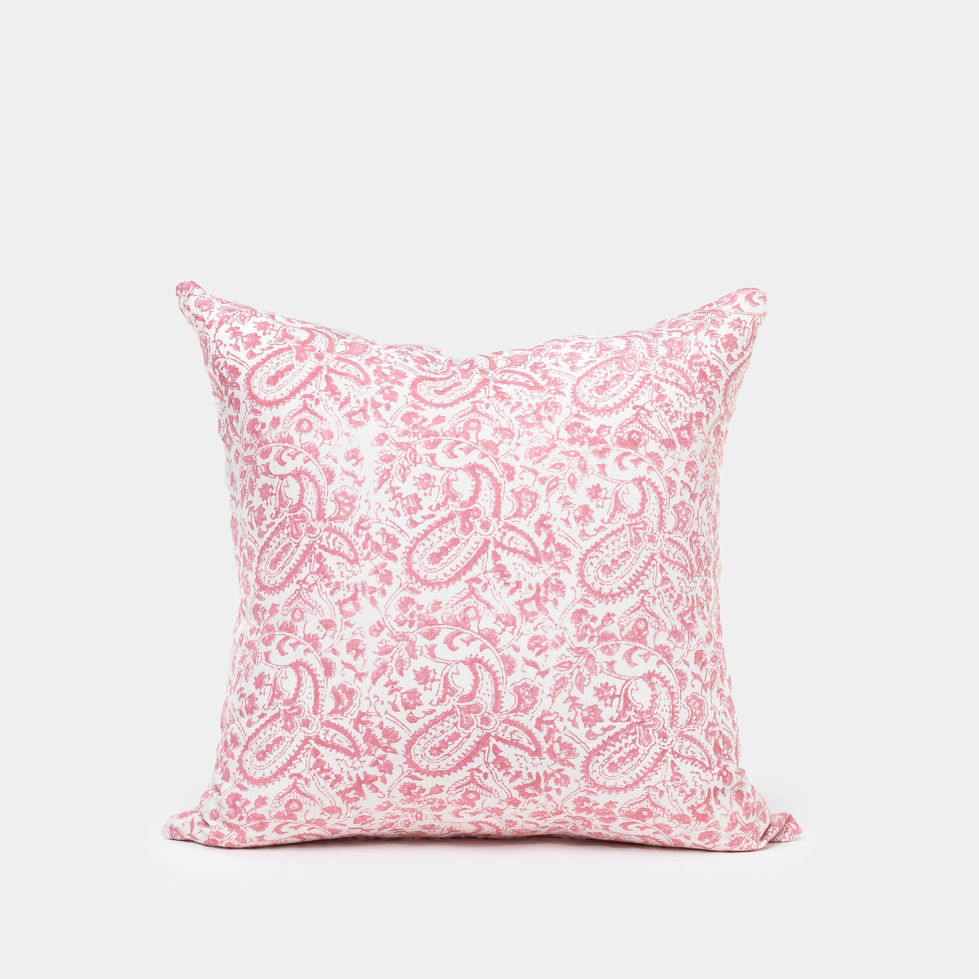 Meenakshi Rose and Taupe Pillow