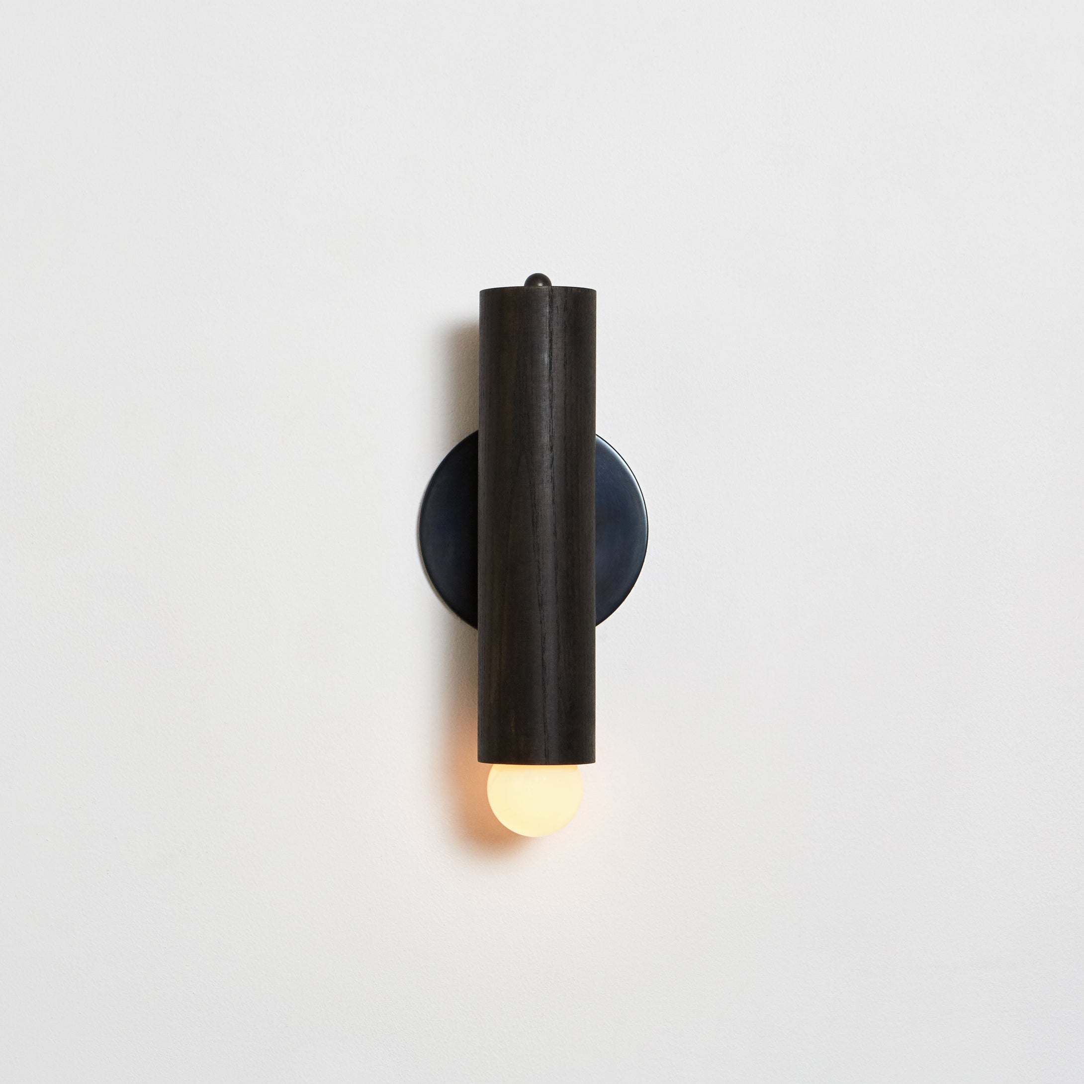 Lodge Sconce in Oxidized Oak