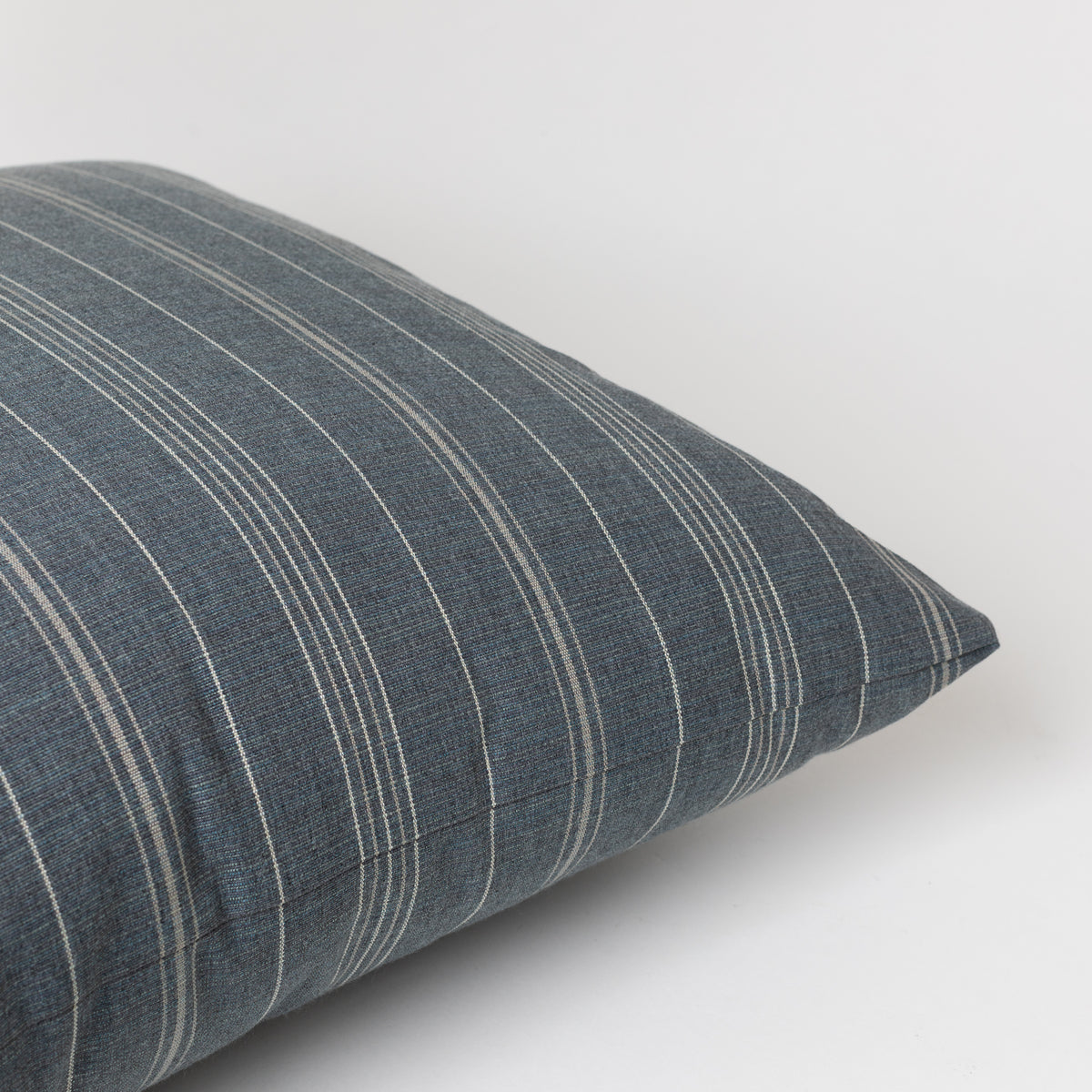 Load image into Gallery viewer, Sutton Stripe Pillow in Gunmetal - Pillows - Designer – Shoppe Amber Interiors