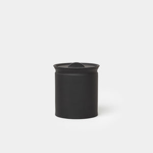 Matte Black Crock Jar - Kitchen & Dining - Kitchenware – Shoppe Amber Interiors